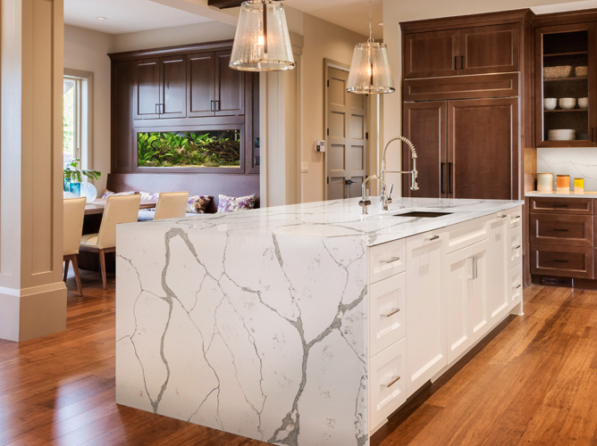 Zodiac Calacatta Kitchen Counter