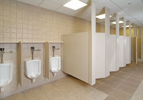 Privacy Plus Partitions With DuPont Corian Distributor - Bathroom privacy partitions