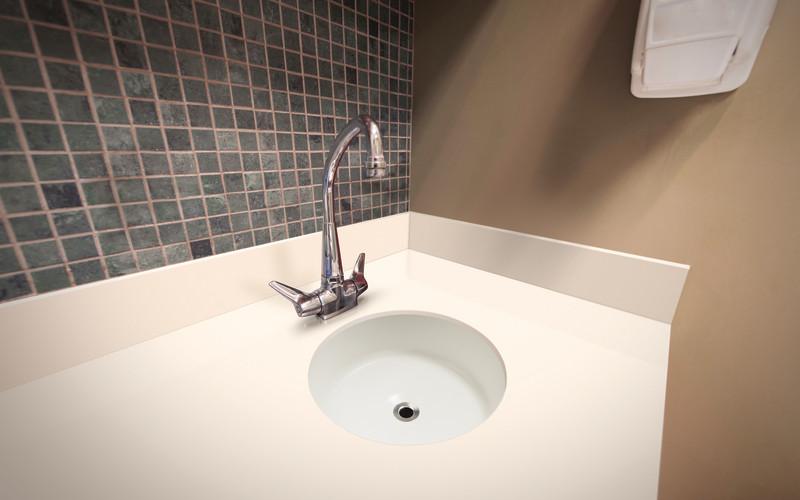 round sink