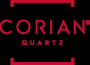 Corian Quartz Vertical Logo