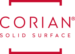 Corian Solid Surface Vertical Logo