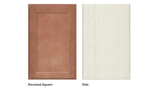 Different kitchen cabinet door styles