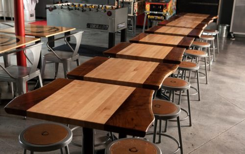 Wood Welded Butcher Block - Commercial Dining