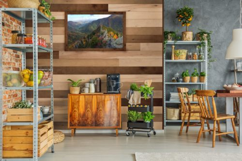 plankwise Wood Wall Planks - Kitchen