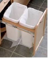 Merillat Base Double Wastebasket Top Mount Kit